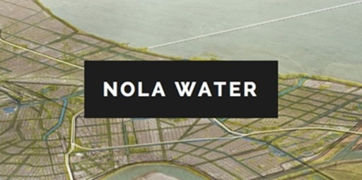 Small nola water logo